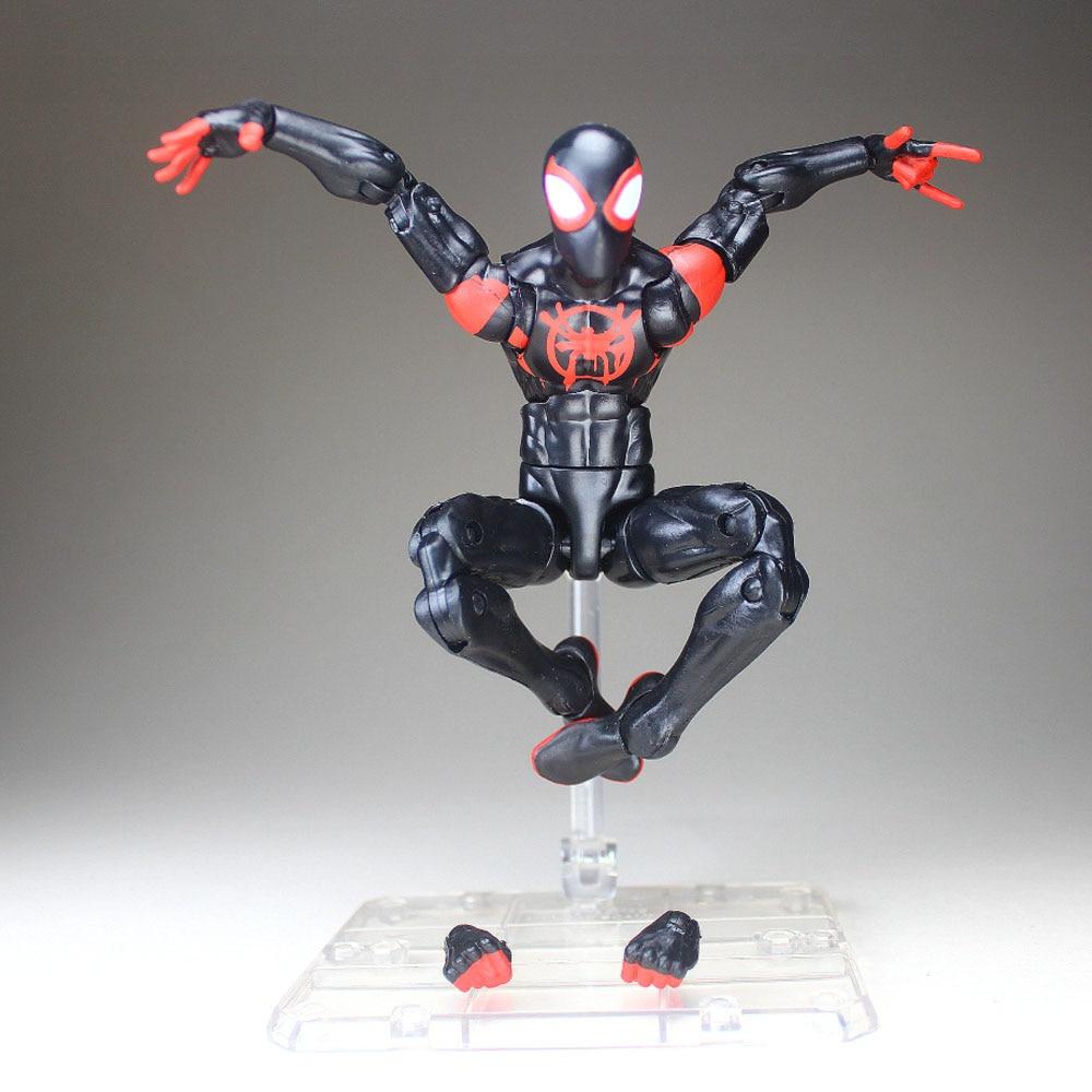 "Marvel Legends 6/"" Into the Spider-Verse Miles Morales Ultimate Spider-Man Loose"