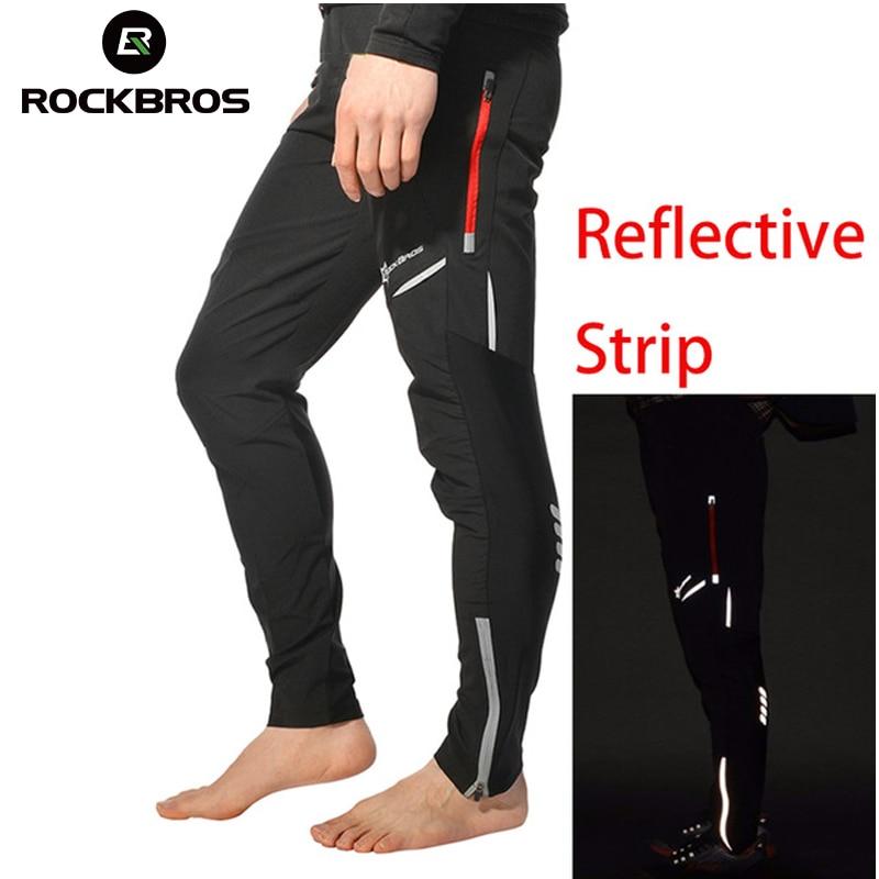 ROCKBROS Cycling Bicycle Sports Pants Multifunction Sportswear Bike Reflective Tights Cycling Pants Cycle Clothing Long Trousers