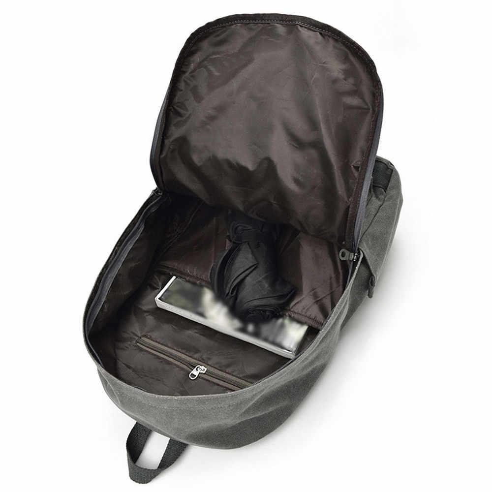 Aelicy роскошный мужской и женский рюкзак винтажный холщовый школьный мужские дорожные сумки большой емкости Рюкзаки для ноутбука школьная сумка