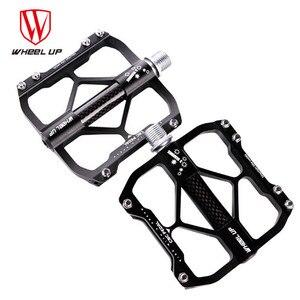 Pedales ultraligeros de aleación de aluminio con 3 rodamientos, plataforma antideslizante para BMX ciclismo MTB, Pedal de bicicleta de carretera de montaña