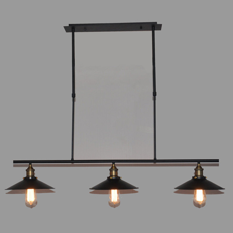 Nordic retro simple three-head chandelier American loft creative personality coffee restaurant bar bar industrial wind lamp lamps the simple art cafe bar creative lighting american retro restaurant three head rope industrial wind chandelier personalize