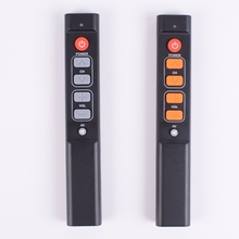 TV STB DVD DVB , TV Box HIFI, 6 개의 큰 버튼이있는 범용 컨트롤러 용 스마트 학습 리모콘