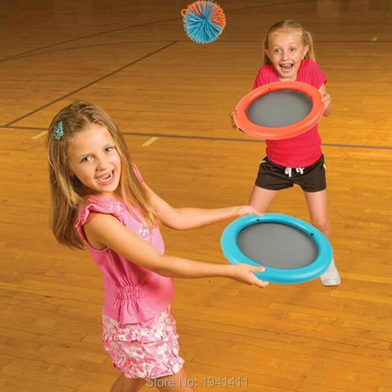Kindergarten sensory integration training parent-child interactive children throw/catch the ball indoor/outdoor versatile toy