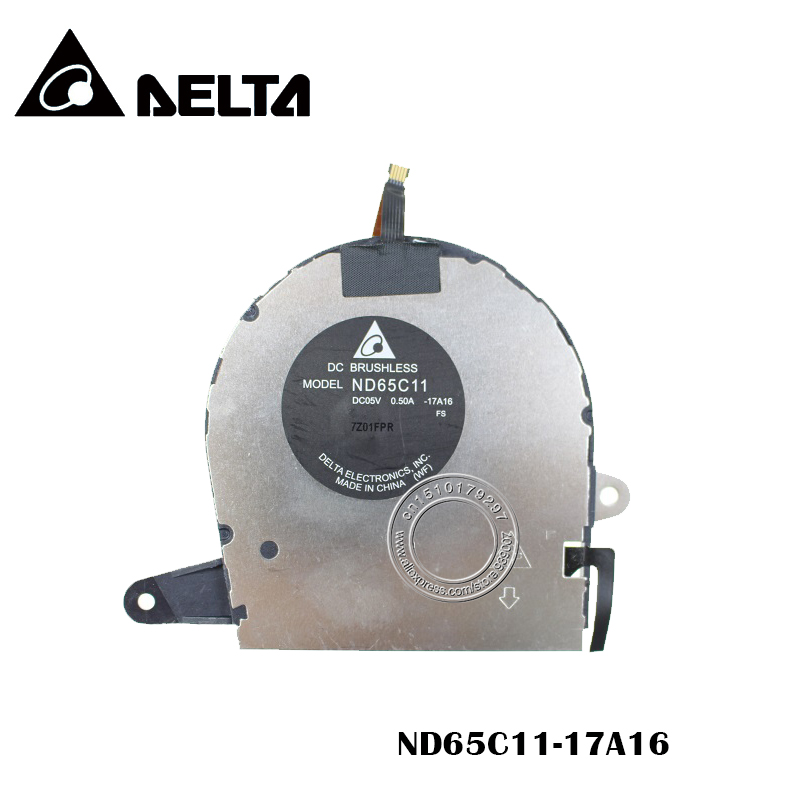 Original Cooling Fan DELTA DC05V 0.50A ND65C11 -17A16Original Cooling Fan DELTA DC05V 0.50A ND65C11 -17A16