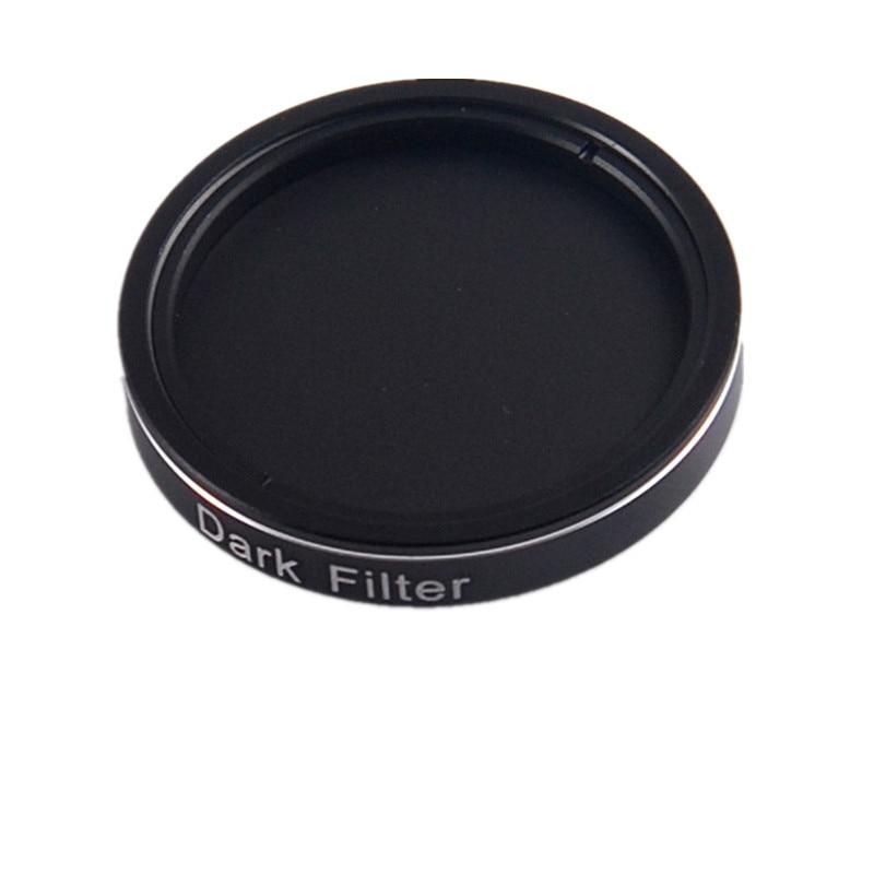 1.25 Dark filter for astronomical filter wheel Deep dark field shooting deep dark brunette