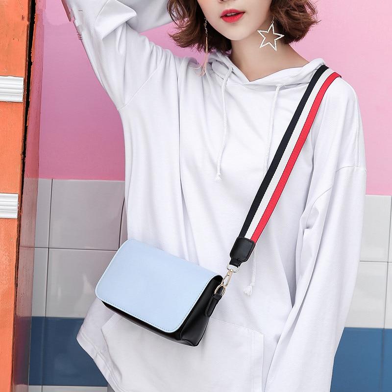 2018 Fashion Women shoulder bags messenger bag women casual PU leather shoulder bag hotsale ladies famous brand cross body bag