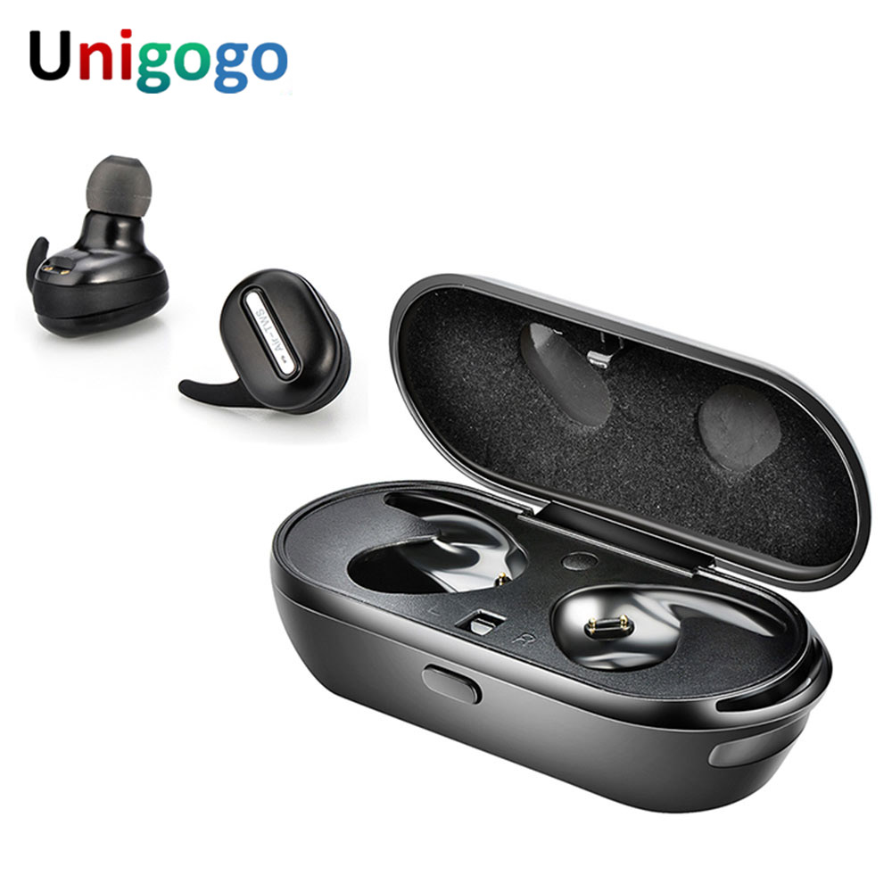 True TWS Wireless Headphones stereo Bluetooth Earbuds handsfree in ear cordless Earphone with Mic for iphone X 7 plus 6S Xiaomi цена