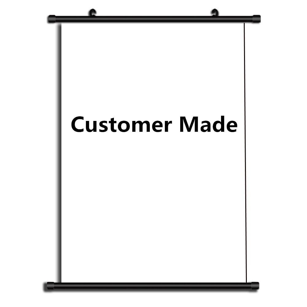 HOT Anime Wall Scroll DIY Custom Customer Made Poster Scroll