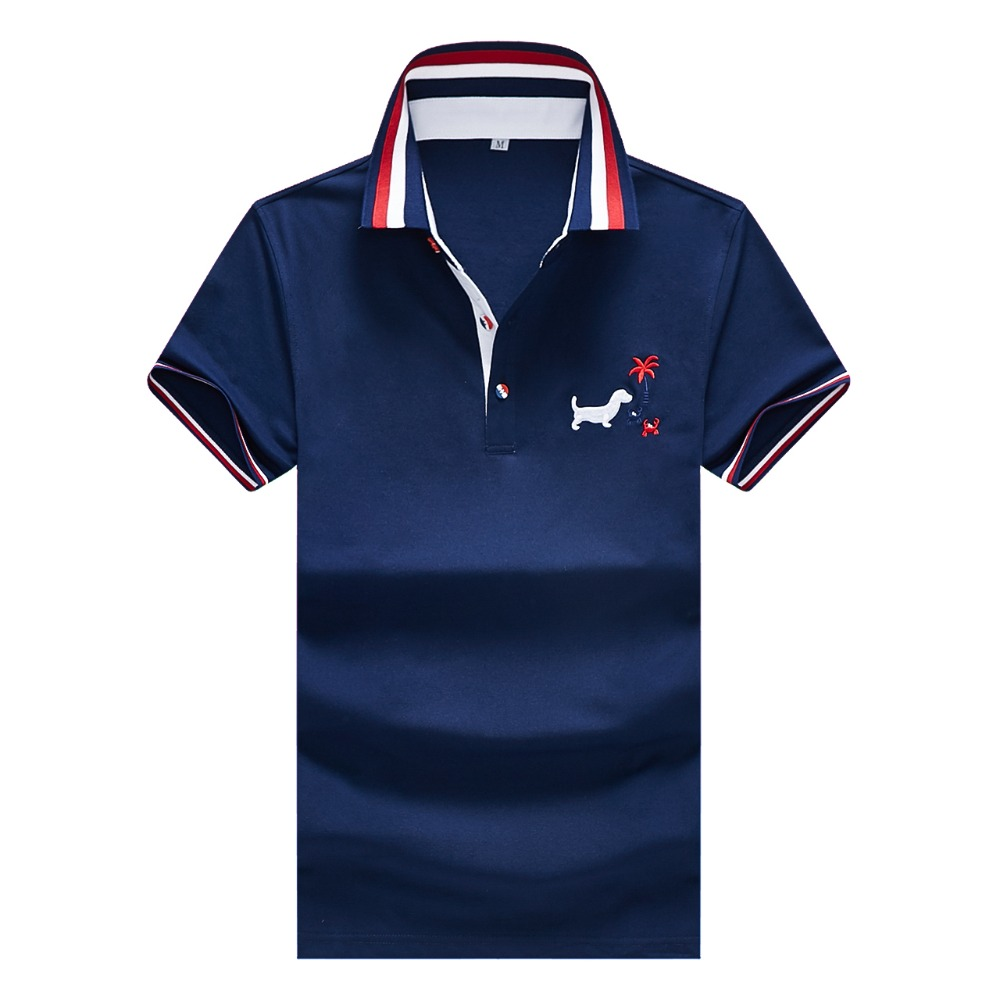 2019 New Arrival Hot Sale Summer Short Sleeve   Polo   Shirt Men Fashion Casual Designer Plus Size Xxxl Embroidery Homme Camisa