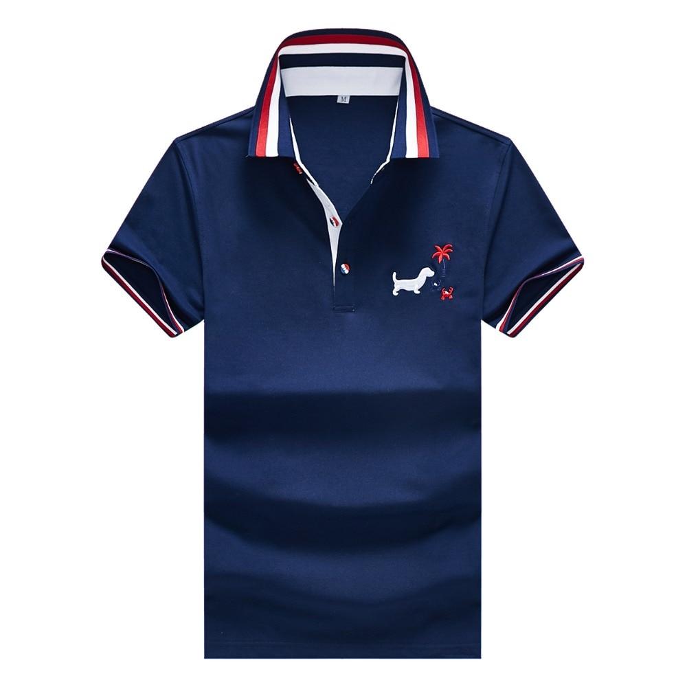 Lexiu Yibai Security Event Safety Embroidery Long Sleeve Polo Shirts