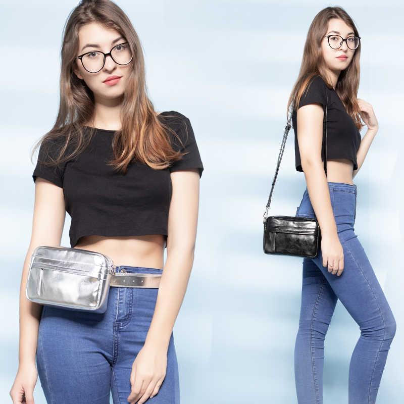 Поясная Сумка для женщин, модная поясная сумка, стильный ремень из искусственной кожи, сумка через плечо, поясная сумка, комплект для мобильного телефона, сумки с карманами для карт