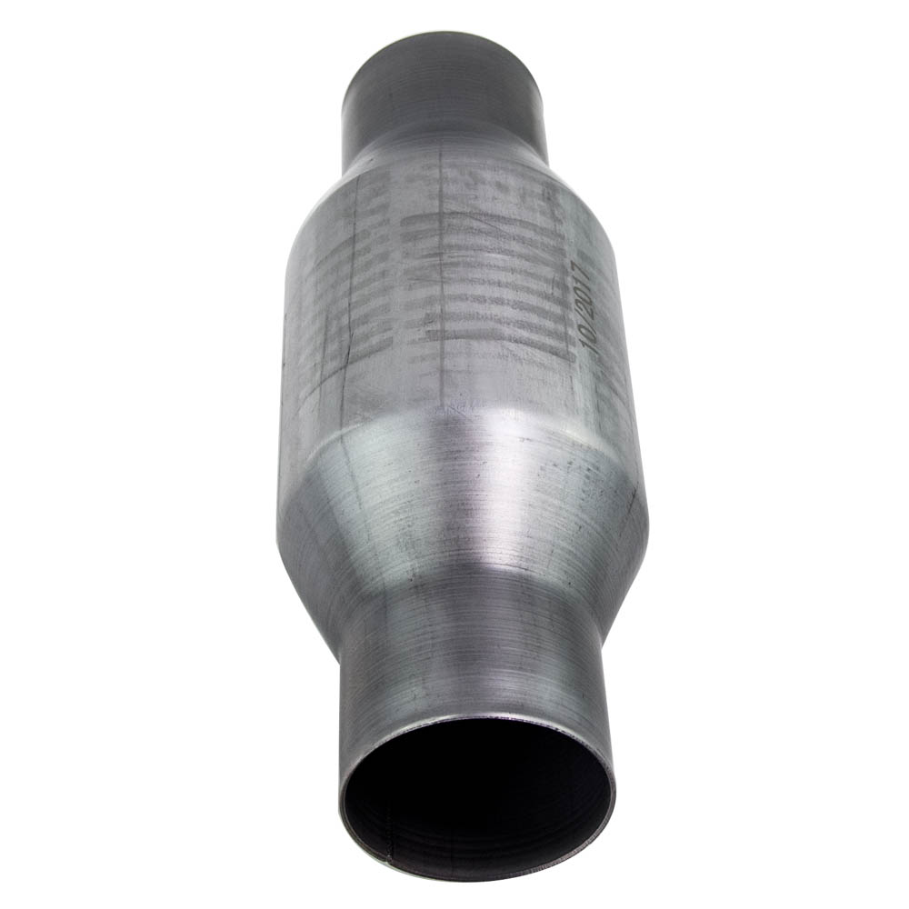2pcs 25inch Universal Catalytic Converter High Flow Stainless Steel Fit Assembly: Steel Catalytic Converter At Woreks.co