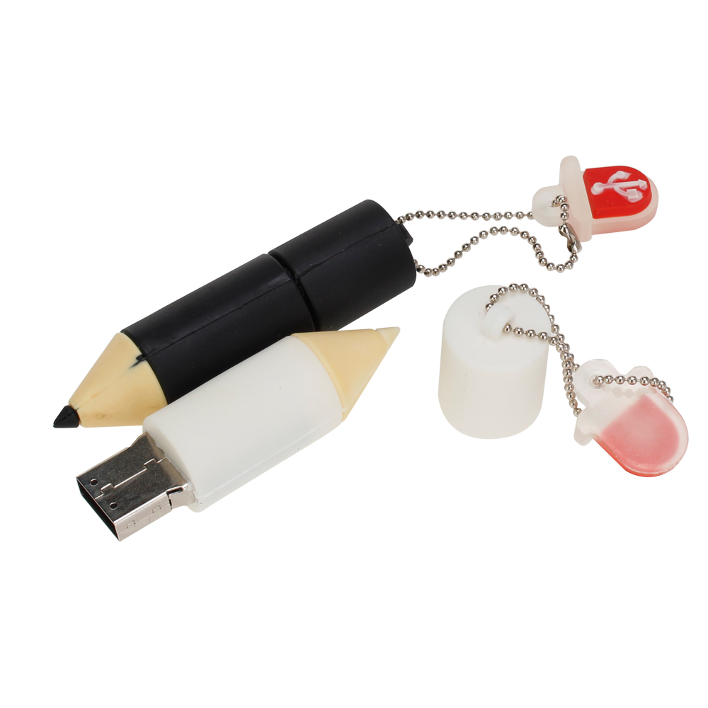 Mini Cartoon Pencil Flash Memory Stick 4gb 8gb 16gb Usb Flash Drive 2.0 32gb Pen Drive 64gb 128gb High Quality Classic Pendrive (3)