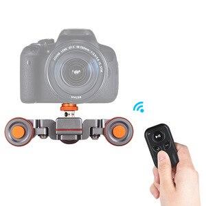 Image 3 - Andoer L4 PRO  Remote Control Mini Skater Motorized Camera Video Dolly Track Sliderfor Canon Nikon Sony DSLR Camera