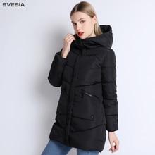 SVESIA Winter Women's Jacket 2018 New Arrival Streetwear Parka Female Casual Coats Camperas Mujer Abrigo Invierno Chaqueta Mujer