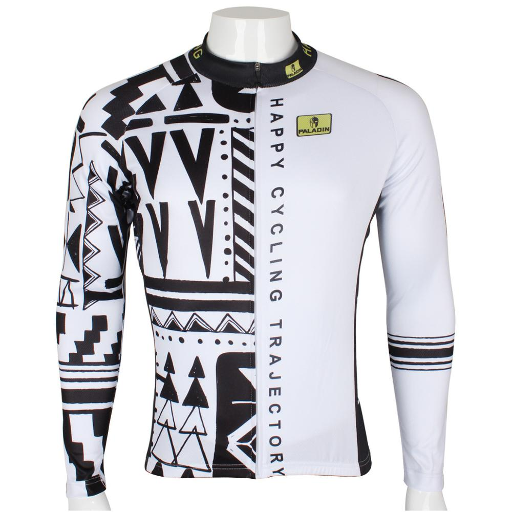 Hot cycling jerseys Cycling Clothing Bike Bicycle Long Sleeve Cycling Jersey Top Sportwear #206 2016 new men s cycling jerseys top sleeve blue and white waves bicycle shirt white bike top breathable cycling top ilpaladin