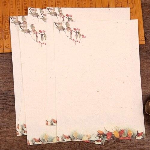1826 cm 16pcs diy boughs of spring design paper gift use love letter