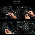 1pc Luxury Crystal car steering wheel bling decoration for volkswagen vw beetle interior accessories 2002-2016
