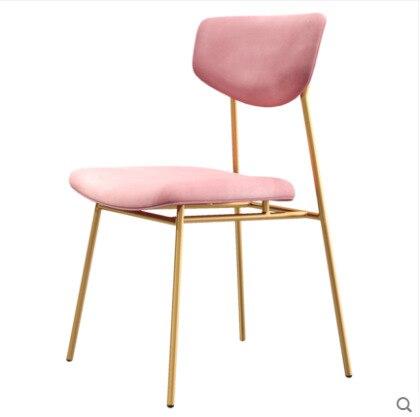 Chaises salle à manger comedores modernes muebles Simple salle à manger adulte nordique Restaurant maquillage Table dossier extérieur