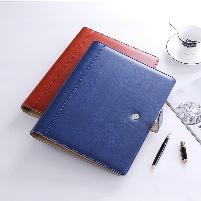 Commercial Business Document Bag A4 file folder Filing Bag Meeting Bag with ring binder  office bags for documents handbag 1199e