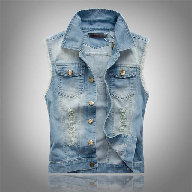 Aliexpress.com : Buy 2015 Summer New Casual Slim Vest Jeans Men