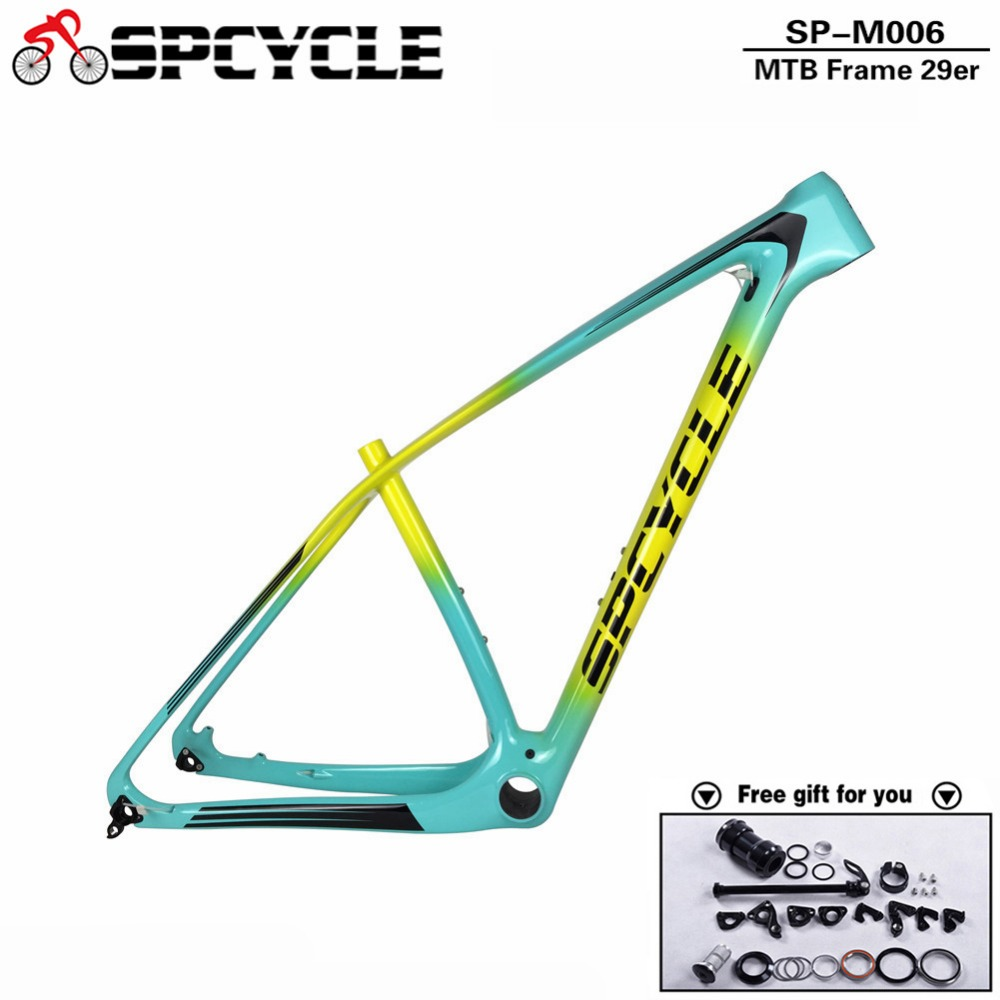 Spcycle Carbon Mountain Bike Frame 29er Chinese Carbon mtb Bicycle ...