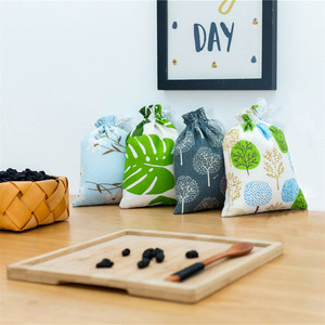 Image 1 - Canasta de almacenamiento de algodón de poliéster, neceser de viaje, tela para zapatos, cesta de almacenamiento, bolsas, organizador portátil, práctico Almacenamiento de viaje