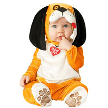 New Arrival Jumpsuit Elephant Monkey Lion Owl Elf Pink Doggy Penguins Leotard Romper Infant Costumes Baby Costumes Baby Onesie