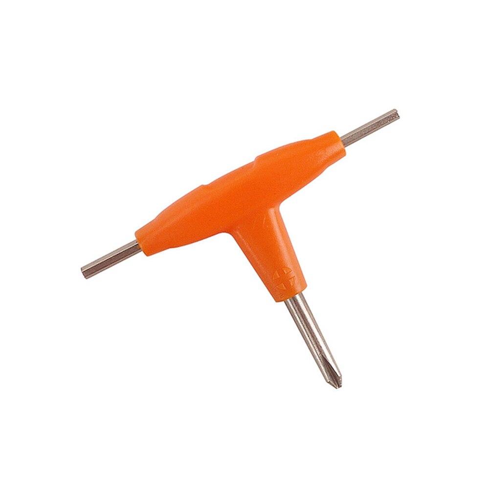 Mini Vape Tool Kit Coil Cleaning Brush with T Shape Hexagon & Cross Head Screwdriver for E Cigarette RDA RBA RTA DIY Tool (2)
