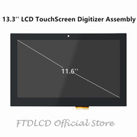FTDLCD 11.6'' 1366x768 LCD Touch Screen Digitizer Assembly LP116WH6 SPA2 For Dell Inspiron 11 3000 P20T P20T001 P20T002 P20T004