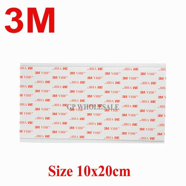 1 peça 3 M VHB 4910 Adesiva Dupla Face de Espuma Acrílica Fita Adesiva  Transparente 20 e077a822b4