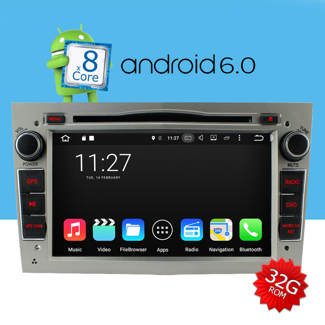 a sure android 6 0 radio dvd gps for opel corsa vivaro astra h meriva zafira b omega tigra dab. Black Bedroom Furniture Sets. Home Design Ideas
