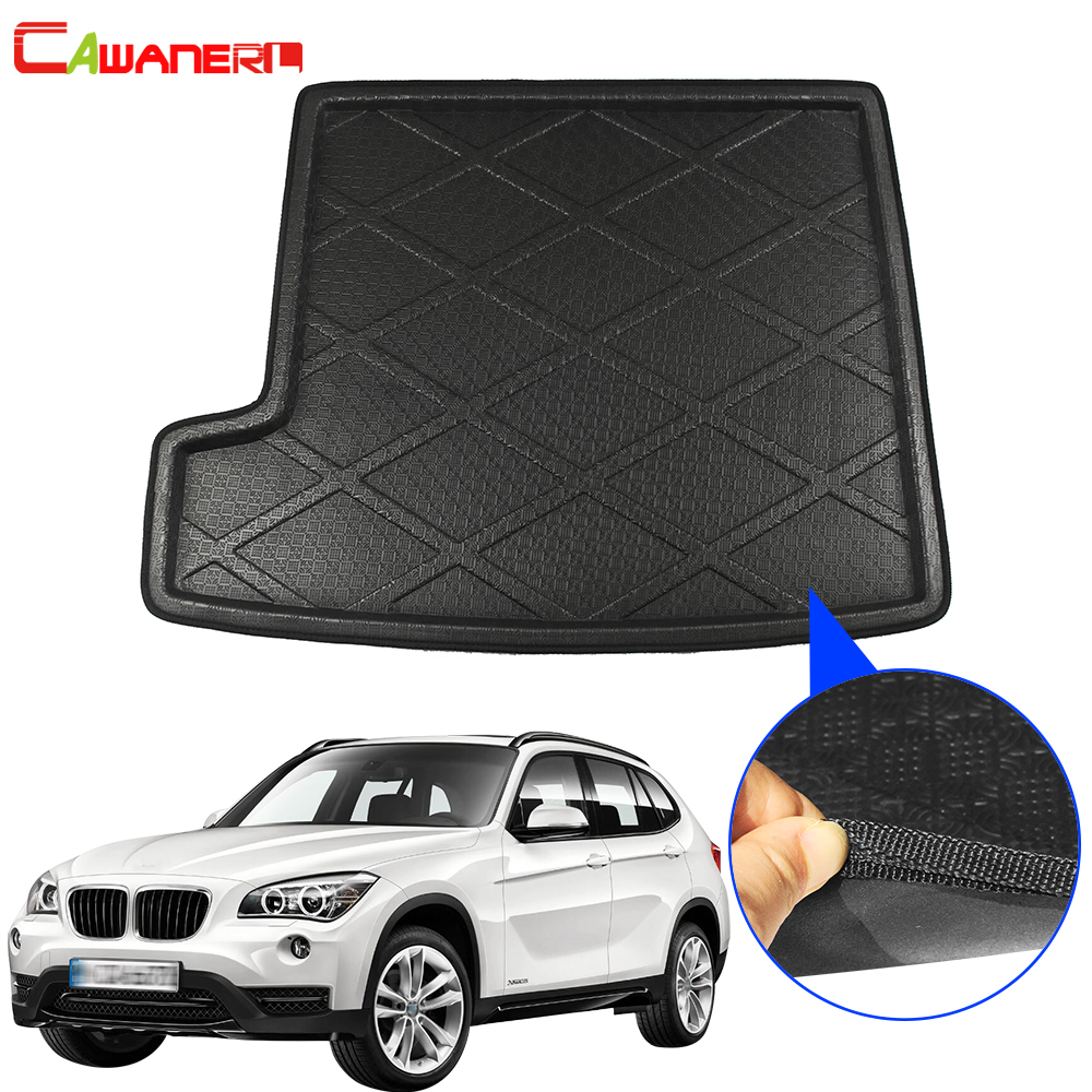 Cawanerl Car Styling Trunk Mat Boot Tray Liner Floor Luggage Mud Pad Cargo Carpet For BMW X1 E84 2010 2011 2012 2013 2014 2015