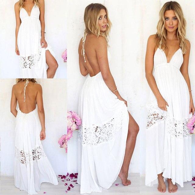 Long maxi beach dresses