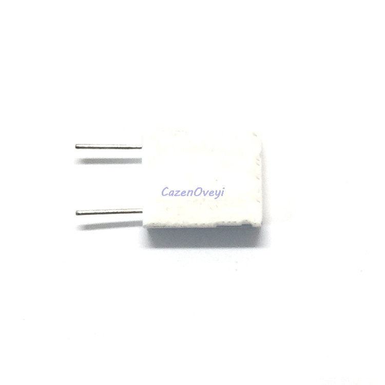 10pcs/lot BPR56 5W 0.1 0.15 0.22 0.25 0.33 0.5 Ohm Non-inductive Ceramic Cement Resistor 0.1R 0.15R 0.22R 0.25R 0.33R 0.5R