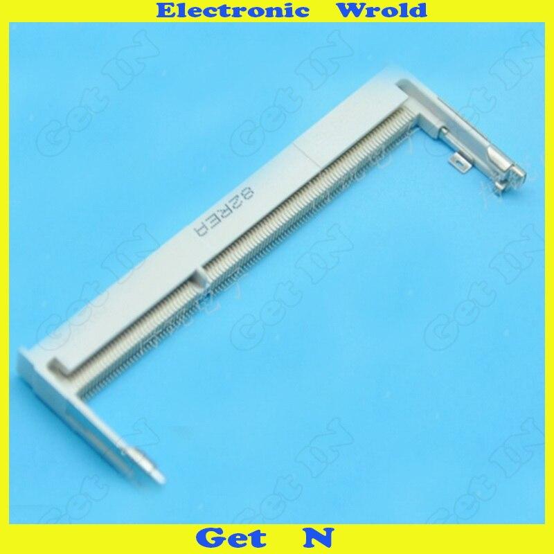 1PCS FOXCONN Notebook Memory Slot Socket 1.5V DDR3 STD forward 204P H:4MM