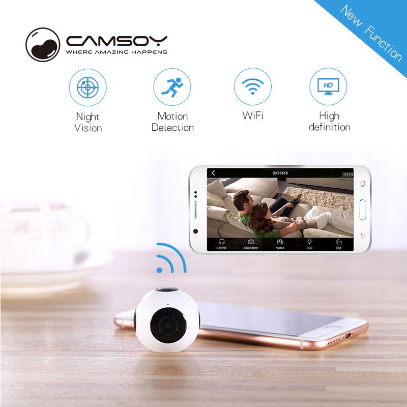 Mini WiFi camera HD 720P Remote playback video small micro IP cam Motion Detection Night Vision Home Security mini camcorder