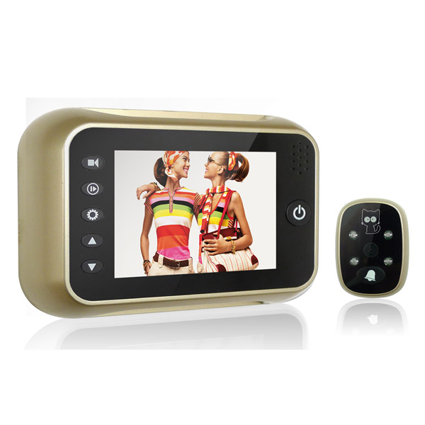 Wide Angle 120 Degree 3.5 Inch Video Door Phone Peephole Viewer Wide Angle 120 Degree 3.5 Inch Video Door Phone Peephole Viewer