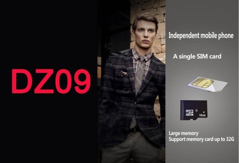 Smartch montre smart watch DZ09 pour Android téléphone avec Carte SIM caméra SMI/TF