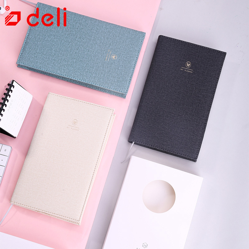 Deli Notebook weekly & monthly Creative Daily Planner Notebook Notepad Diary Simple Handbook Schedule it ethics handbook