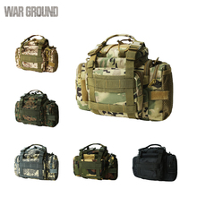 Molle military tactical pockets multi-function camera bag magic outdoor camouflage hunting fishing