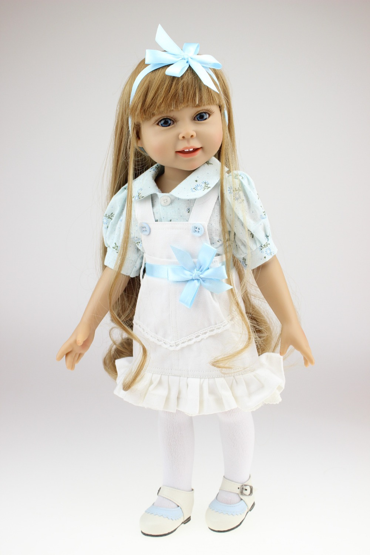 18 Silicone vinyl Reborn baby dolls very soft sleeping girl doll handmade lifelike fashionable baby gift