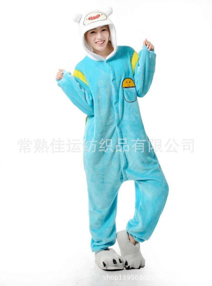 halloween anime adventure time finn jack cosplay costume yellow