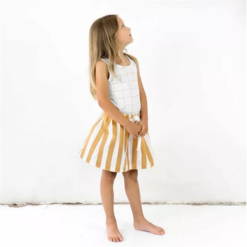 1-5T Tiny Cottons Girl Summer Skirt ZTKIDS Baby Girls Brand Clothes High Quality Children Tutu Skirts Fashion Striped Girl Skirt