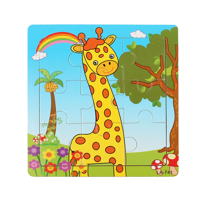 Puzzles & Games Hearty Muqgew Giraffe 3d Paper Jigsaw Puzzles For Children Kids Toys Brinquedos Toys For Children Educational Puzles Toys Juguetes Diversified In Packaging