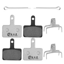 Mtb Bike Brake Pads For SHIMANO ALIVIO / NEXAVE ACERA Tektro Semi-metal Disc 4 Pairs