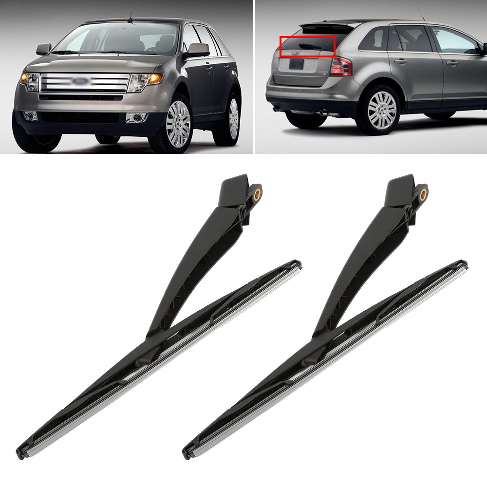 Rain wiper windshield wipers rubber wiper blade arm car rear windshield wiper and blade set for ford edge 2010 2013