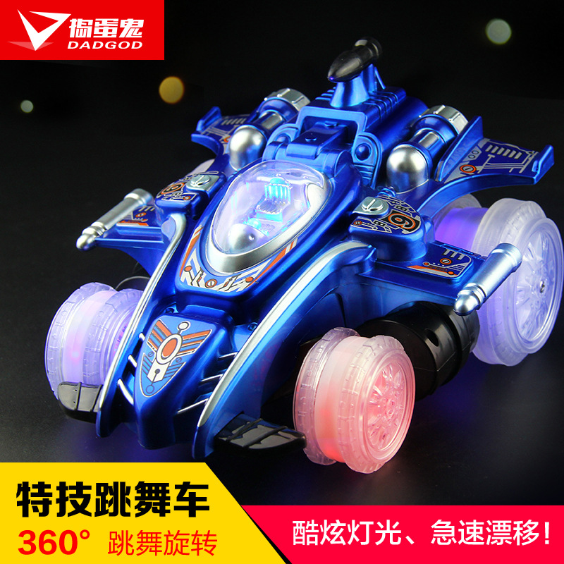 Devils Dance Stunt Car Lights Six Channel Electric Remote Control Toy Manufacturers Selling Children Tipcart Model