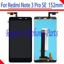 Хорошее Черный 5.5 дюймов полный ЖК-дисплей дисплей + Сенсорный экран преобразователь в сборке для Xiaomi Redmi Note 3 Pro SE Глобальный Версия 152 мм