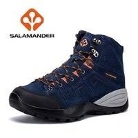 2017 NO14 Sport Hiking Shoes Original Salamander Top Quality Hiking Shoes For Man Outdoor Sport Hiking